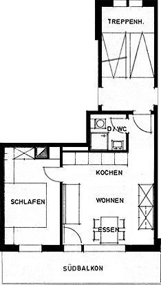 grundriss apartment 2