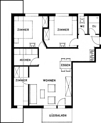 grundriss apartment 7